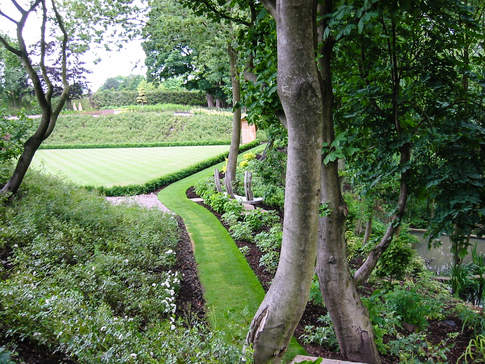 Garden Inspiration, Modern Cheshire Garden, Thinking Outside the Boxwood