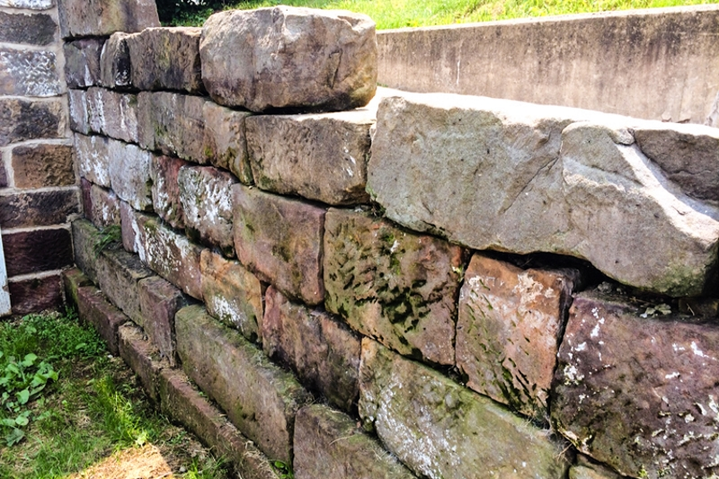 Granite Foundation Blocks : Louis bromfield thinking outside the boxwood