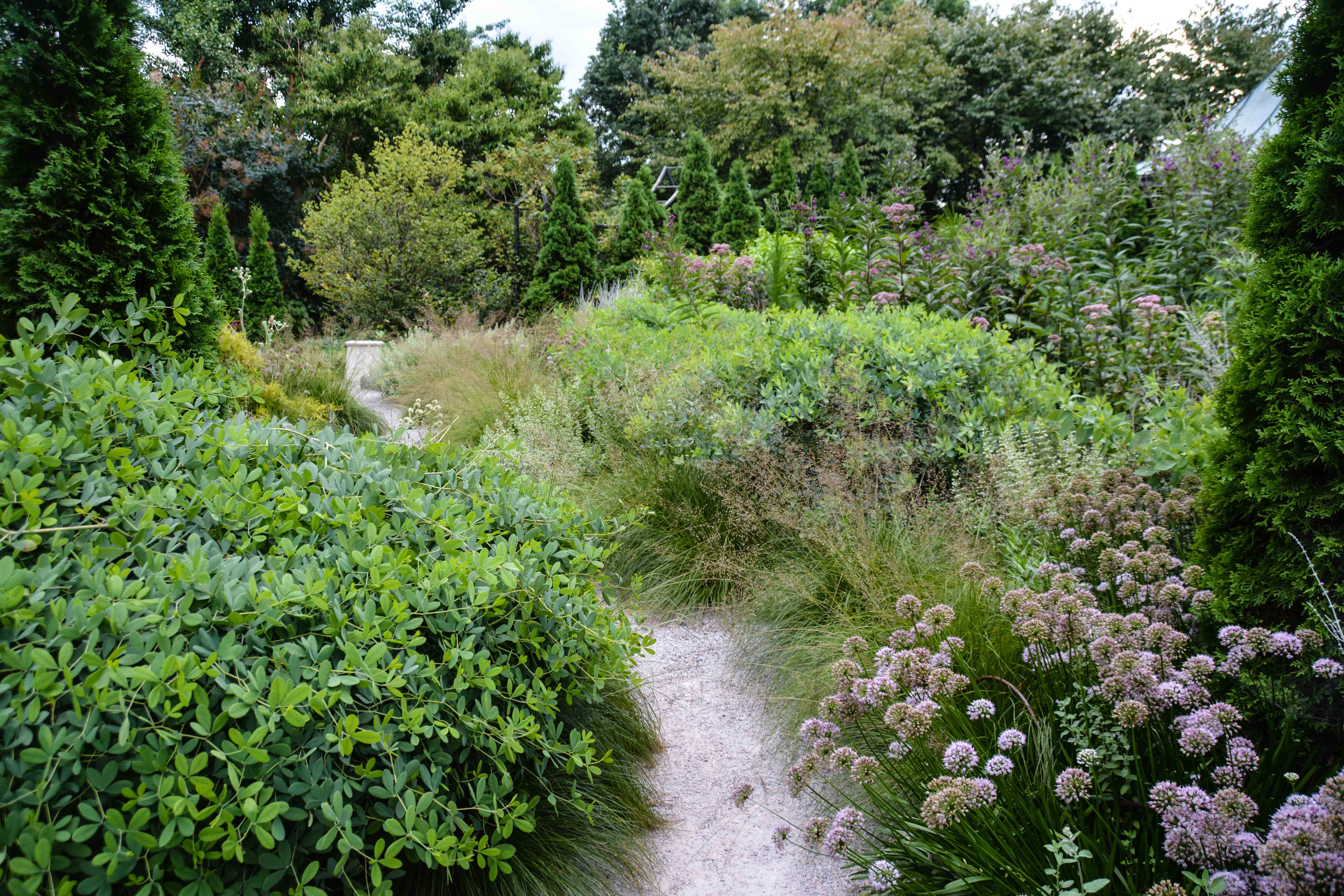 Olbrich Botanical Gardens, gravel garden - Madison Wisconsin, Thinking Outside the Boxwood