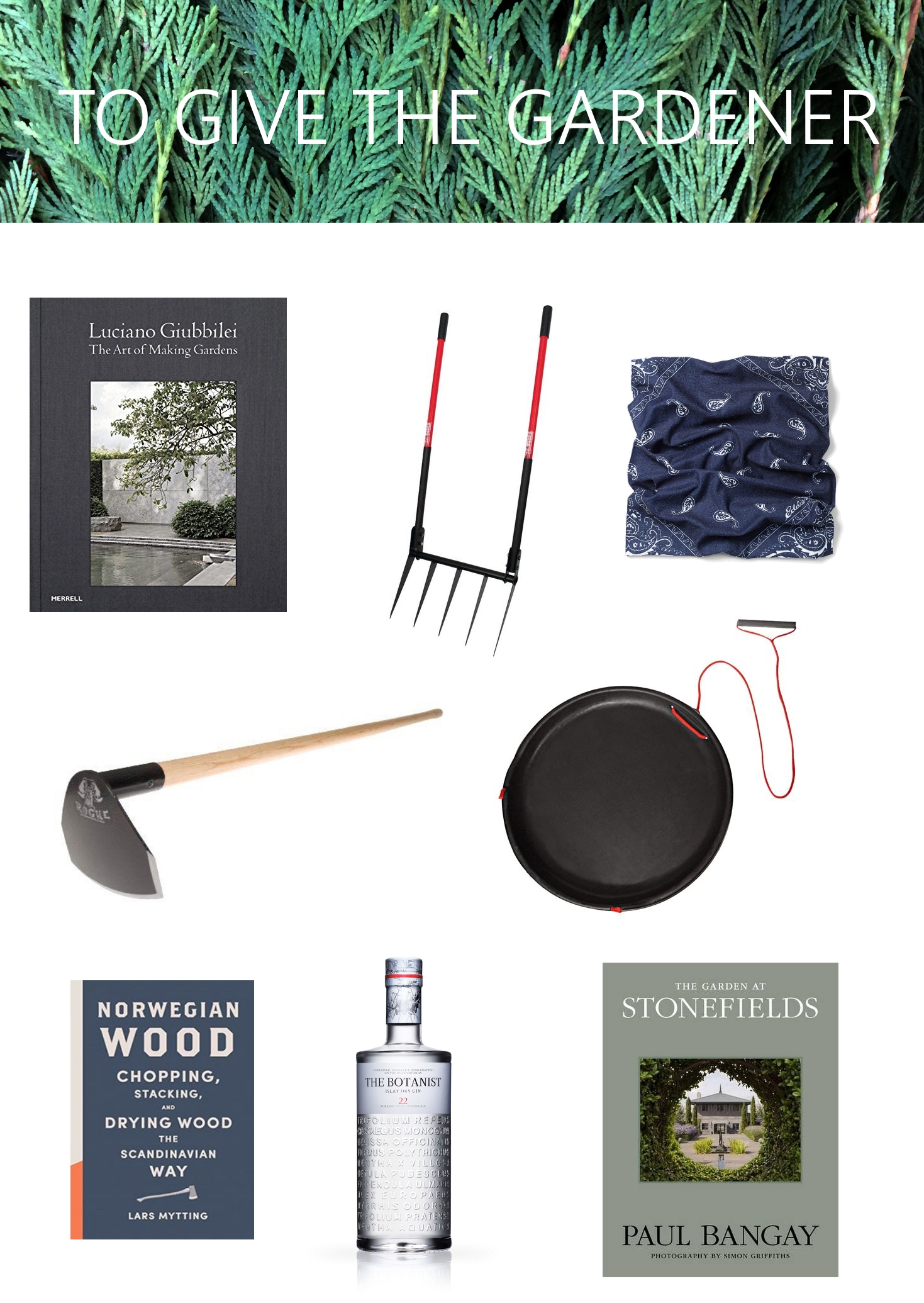 Thinking Outside the Boxwood, 2016 Holiday Gift Guide