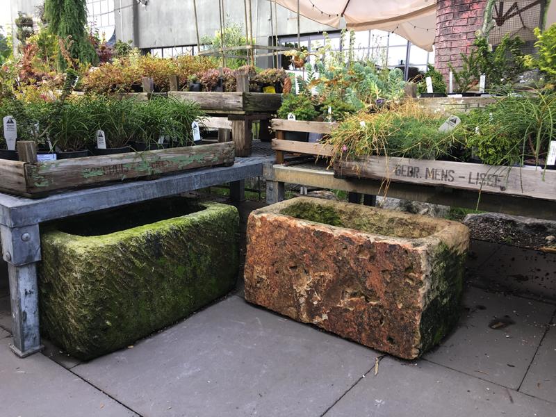 Garden merchandising inspiration from Terrain at Westport, CT. More at Thinkingoutsidetheboxwood.com